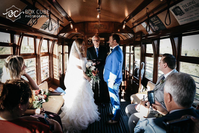 Nicole + Stephen // Wedding At Edmonton Radial Railway Society