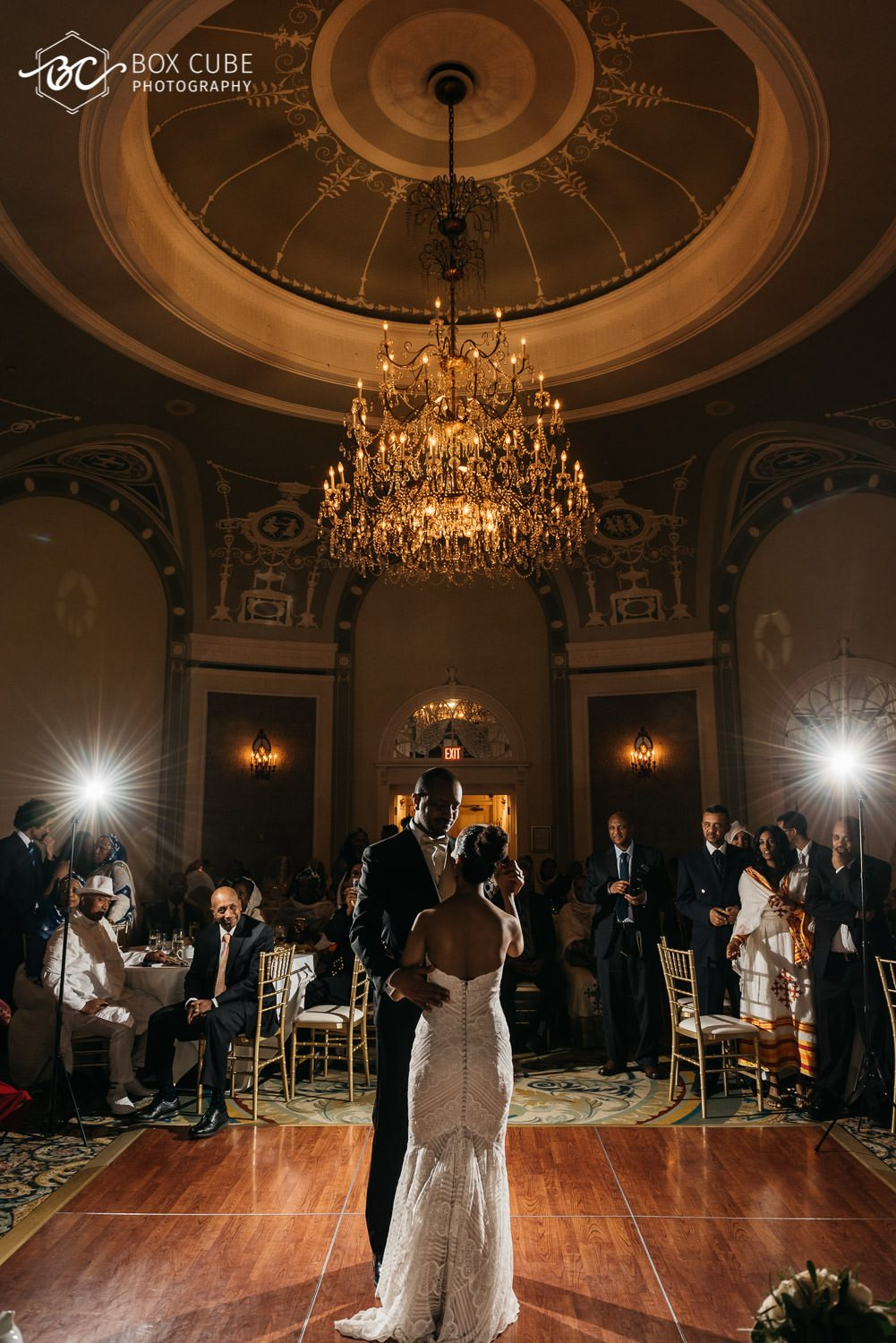 edmonton wedding venue ballroom dance photo